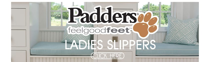 Padders Womens Slippers