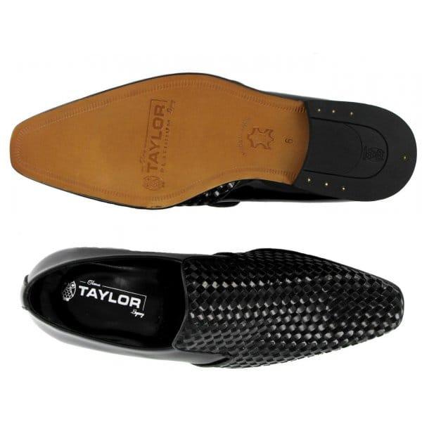 Interweaved Leather Shoe