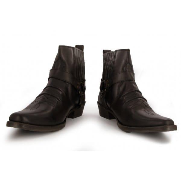 maverick mens soft leather cowboy boots brown buy