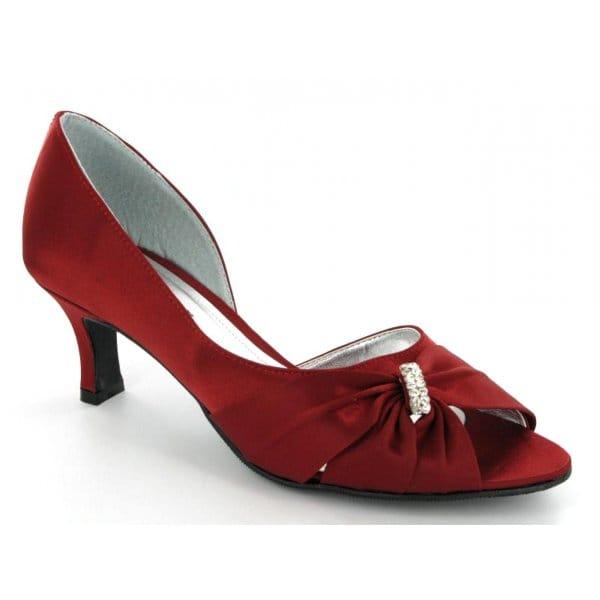 Women 2.2inches middle heel PU upper Latin ballroom tango salsa dance shoes girls wedding shoes sandals burgundy black
