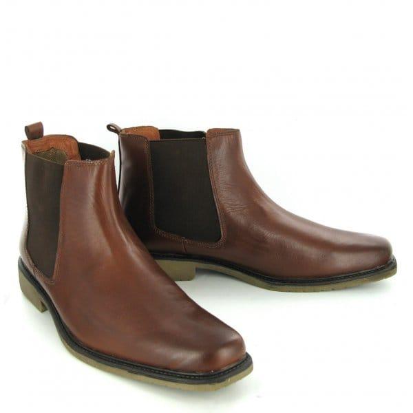 psl travis mens leather chelsea dealer boots psl