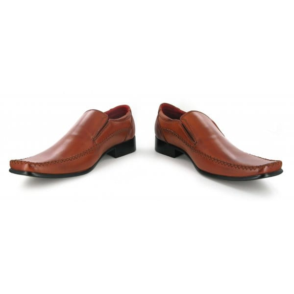 shuperb louis mens faux leather slip on casual shoes