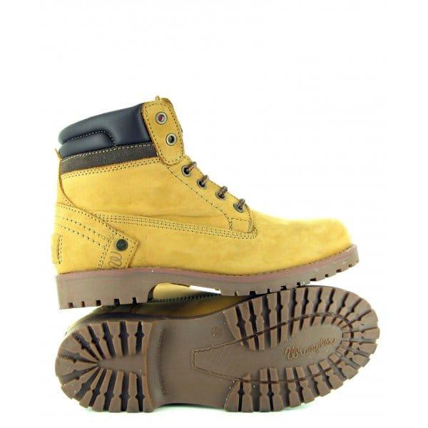wrangler creek womens 6 eyelet leather boots honey
