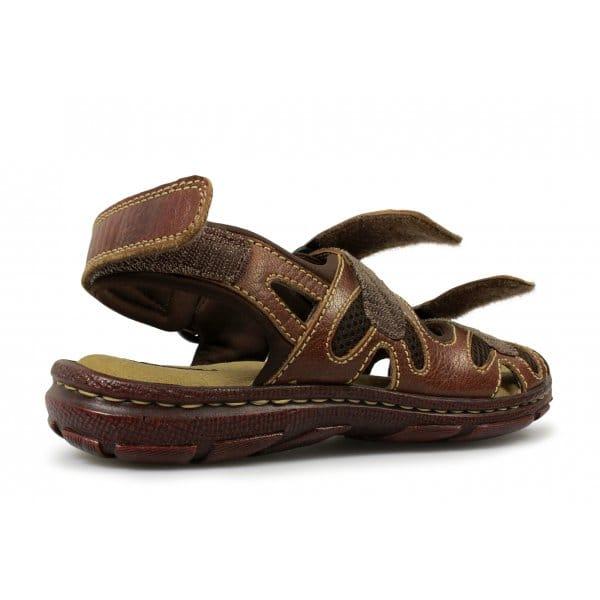 Mens Shoe Velcro   Triple Wide