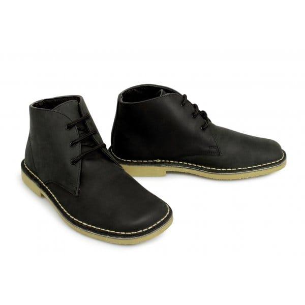 Suede Lace Up Square Toe Mens Shoes
