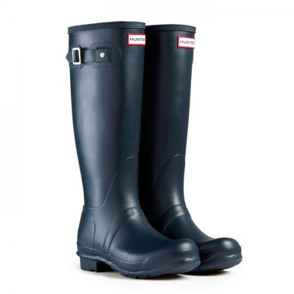 New  Boots  Hunter  Hunter Black Original Back Adjustable Womens