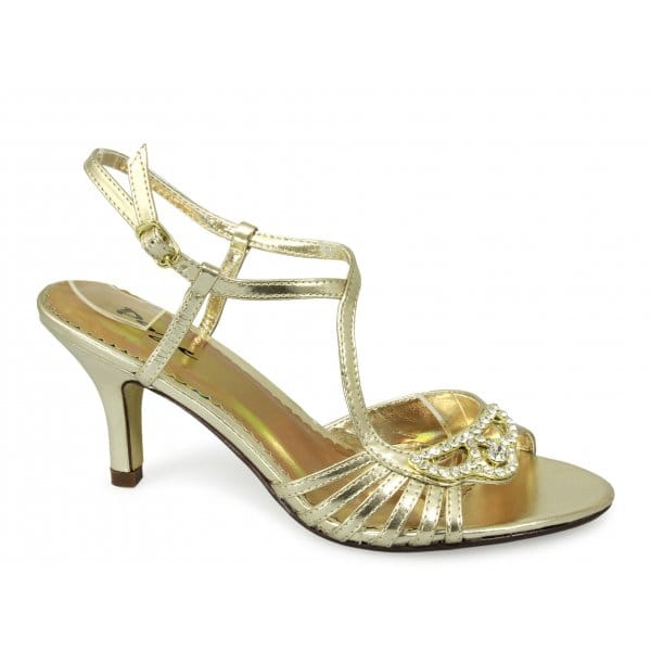 Silver Shoes Uk Low Heel Size
