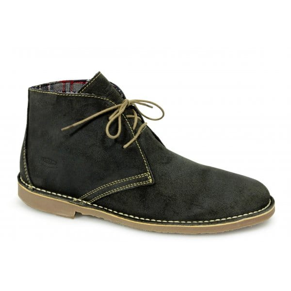 Boot bottom man rubber soft suede