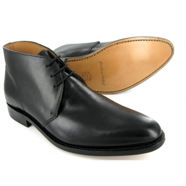 Black Mens Chukka Boots