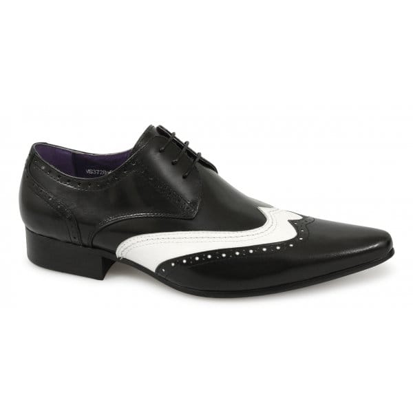 gucinari mens leather fancy dress funky gangster spats