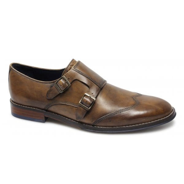 Mens Shoes Hush Puppies STYLE MONK STRAP