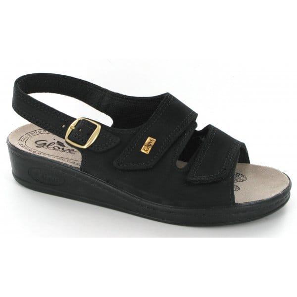 Wonderful Rieker U0026#39;Platou0026#39; Metallic Velcro Strap Mule Sandal 608R4-90