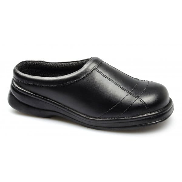 footsure womens resistant slip on steel toe safety