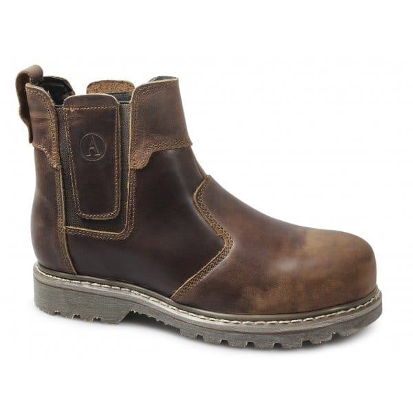 amblers mens womens welted metal toe work safety