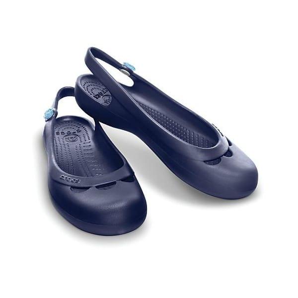 crocs jayna womens ladies wide fit slip on comfy casual slingback flat shoes new ebay. Black Bedroom Furniture Sets. Home Design Ideas