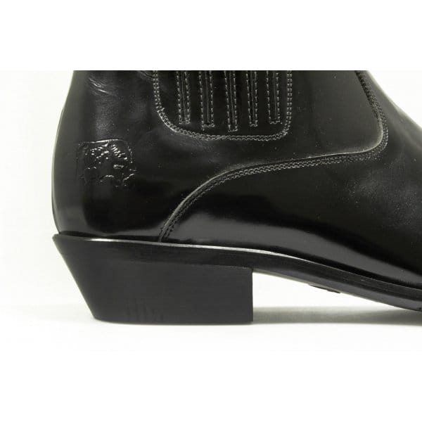 etor mens patent leather pointed cowboy boots black buy