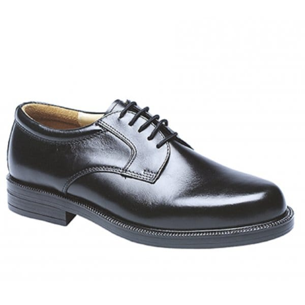 Scimitar-Mens-Leather-Lace-Up-Padded-Evening-Office-Formal-Gibson-Shoes-Black