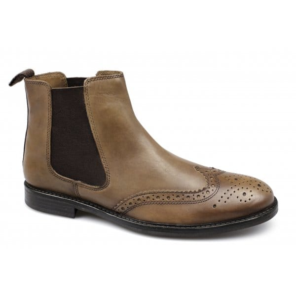 boyne mens formal brogue chelsea boots buy