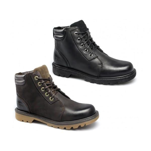 caterpillar utility chukka mens lace up boots black buy