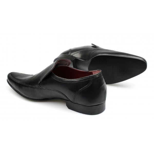 sherston mens soft leather slip on formal office