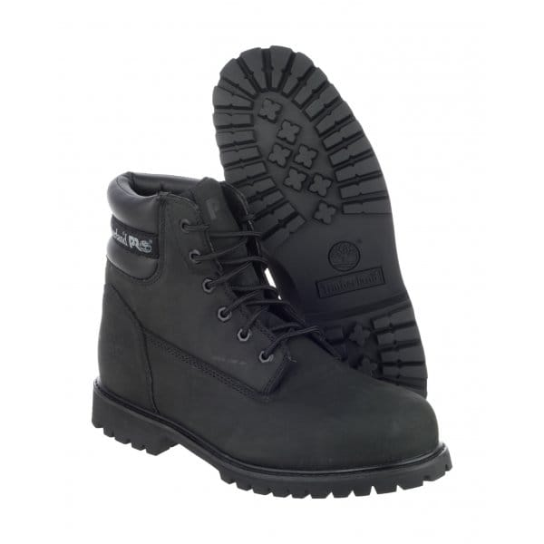 Timberland TRADITIONAL WIDE Mens S1 Safety Boots Black ...