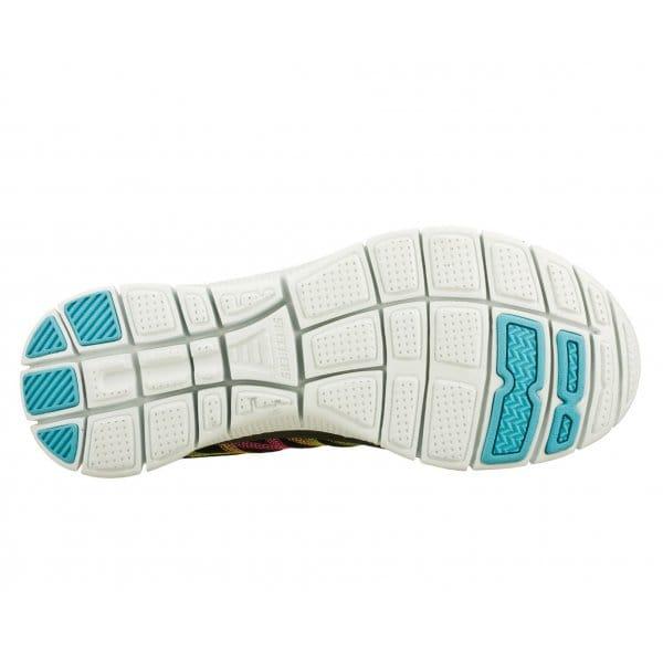 Skechers-Flex-recurso-algo-Divertido-Para-Mujer-Damas-lazada-Running-Gym-formadores miniatura 6
