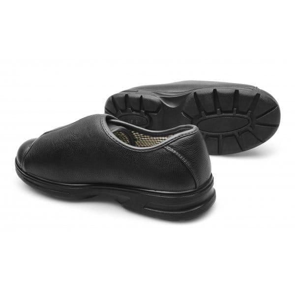Mens Shoes Velcro Fasten