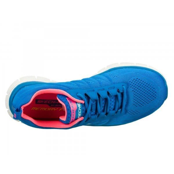 skechers flex appeal sweet spot womens trainers blue buy. Black Bedroom Furniture Sets. Home Design Ideas