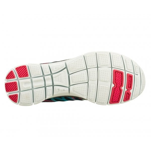 Skechers-Flex-recurso-algo-Divertido-Para-Mujer-Damas-lazada-Running-Gym-formadores miniatura 10
