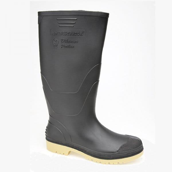 dunlop administrator mens wellington boots black