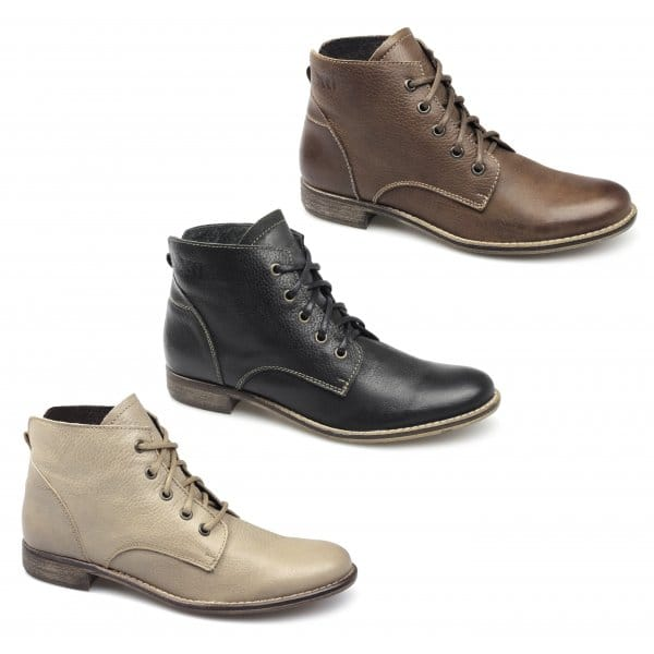 Ladies Ankle Boots Women's ankle boots to take you through the seasons. Find timeless classics and this season's statement styles, choose from flat ankle boots made from premium leathers to show-stopping heeled ankle boots.