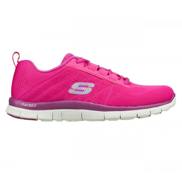 skechers flex appeal sweet spot womens trainers pink. Black Bedroom Furniture Sets. Home Design Ideas