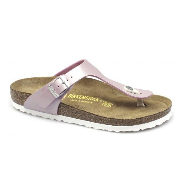 birkenstock gizeh womens toe post sandals pearly rose pink. Black Bedroom Furniture Sets. Home Design Ideas