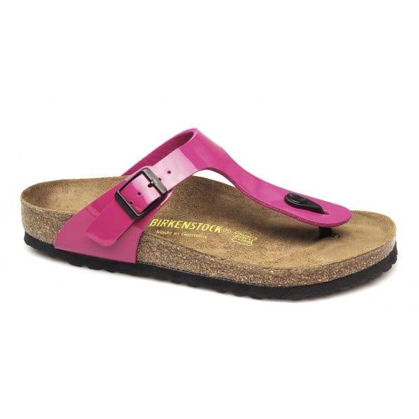 birkenstock gizeh birko flor womens ladies sandals lack. Black Bedroom Furniture Sets. Home Design Ideas
