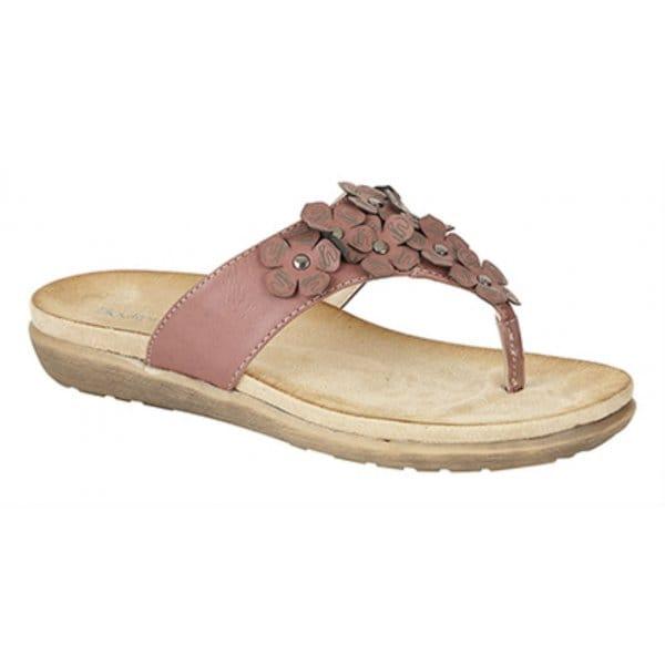 Esandra White Mule Shoe