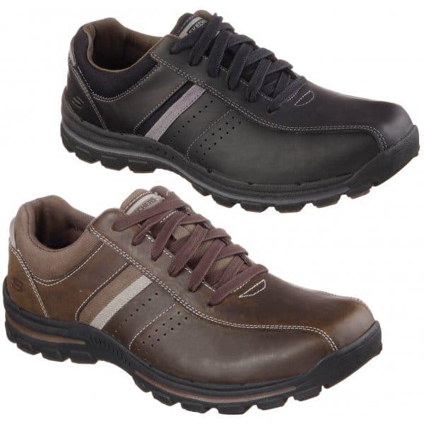 Skechers White Alfano Mens Casual Shoe
