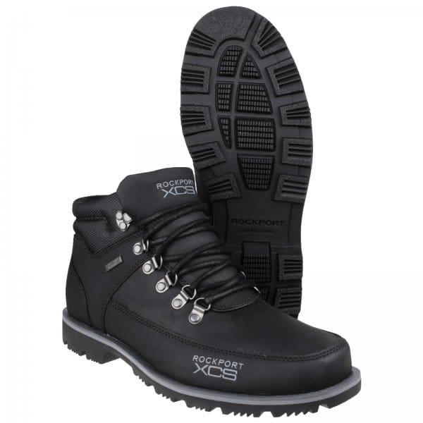 rockport xcs mudguard mens water resistant walking boots