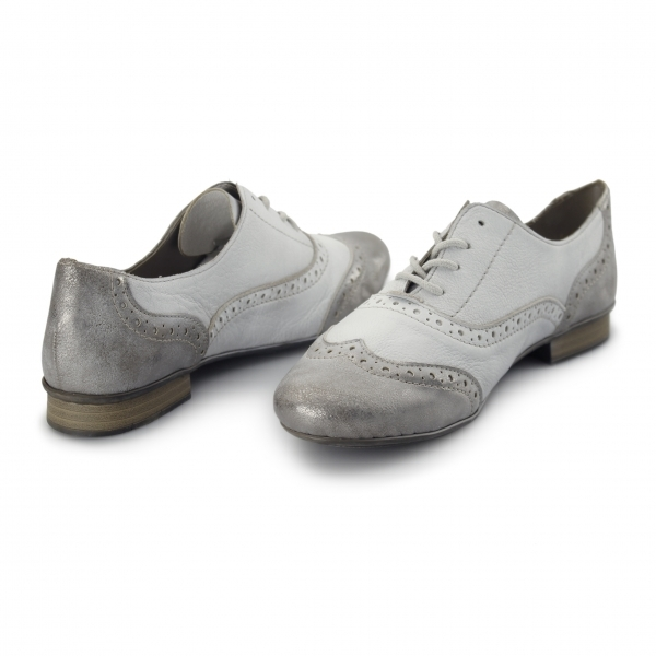 Ladies Grey Lace Slip On Casual Shoes Hush Puppies