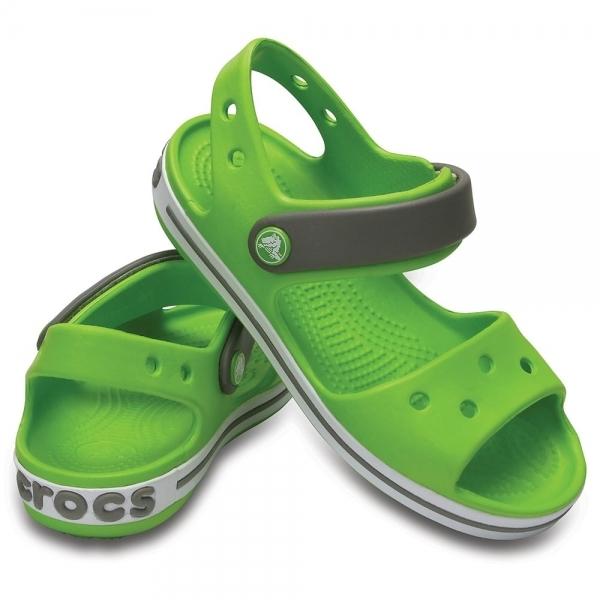 Crocs 12856 CROCBAND SANDAL Kids Boys Girls Summer Beach Touch Fasten Sandals