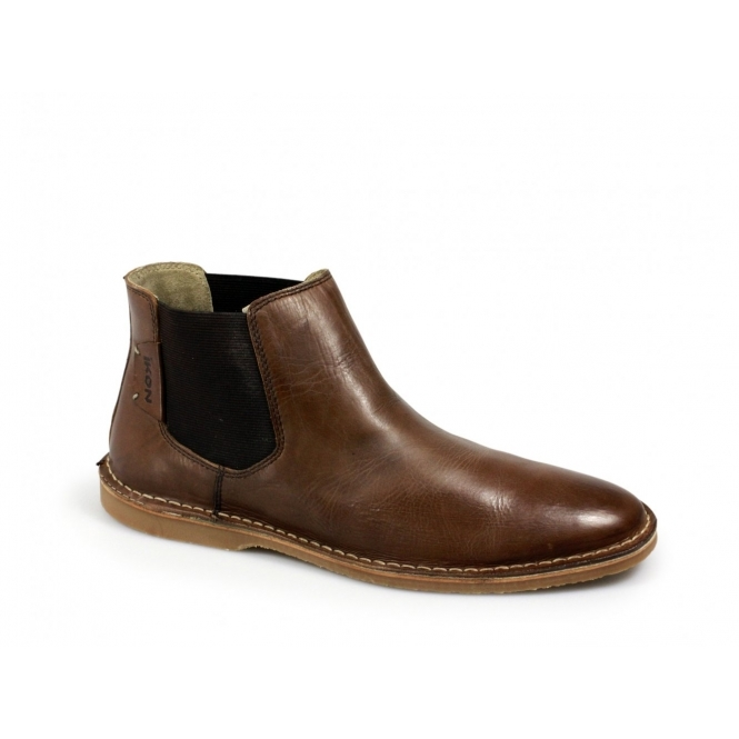 ikon sundance mens suede leather dealer boots brown shuperb