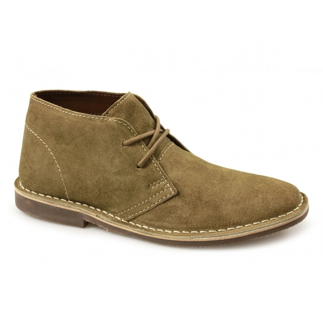 Red Tape GOBI II Mens Suede Leather Desert Boots Tan