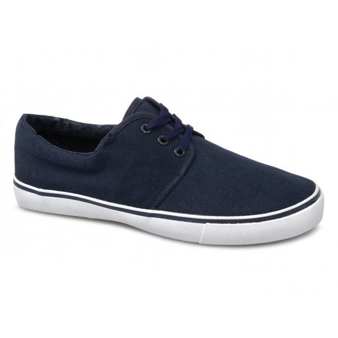 Mirak YACHT Unisex Canvas Lace Shoes Navy