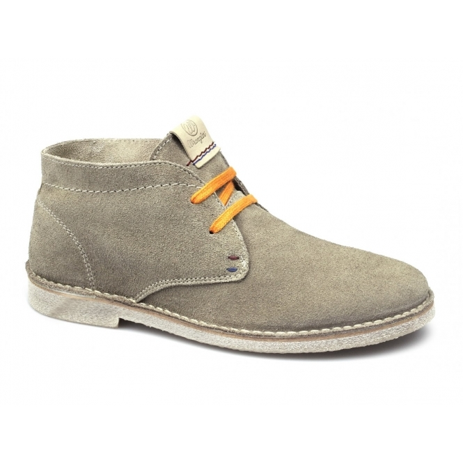 Wrangler CHURLISH Mens Soft Suede Leather Lace-Up Casual Desert ...