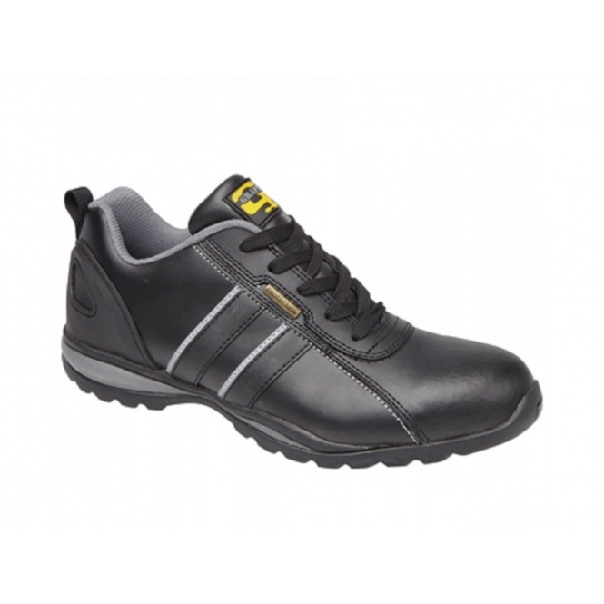 Grafters M090A Unisex SB SRA Safety Trainers Black