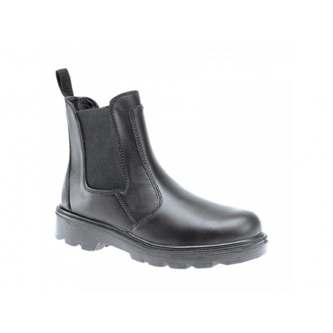 Grafters M5900A Mens S3 SRC WRU Dealer Safety Boots Black