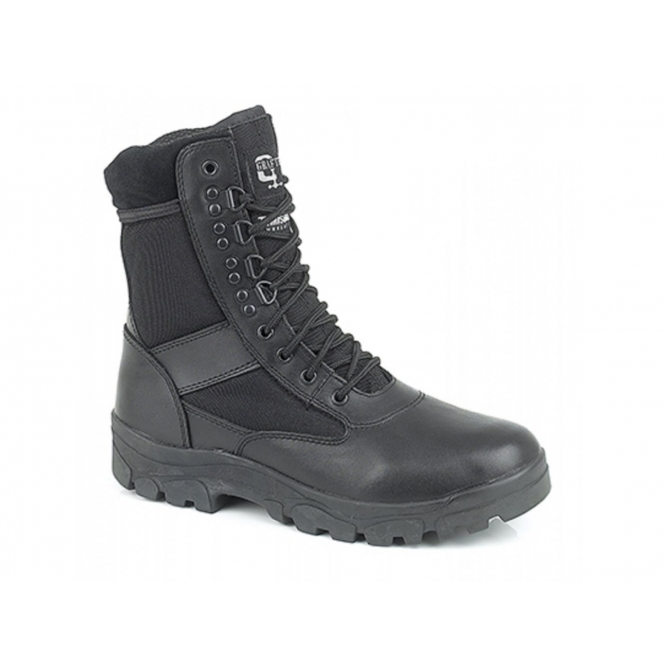 Grafters G-FORCE Unisex Non-Safety Combat Boots Black