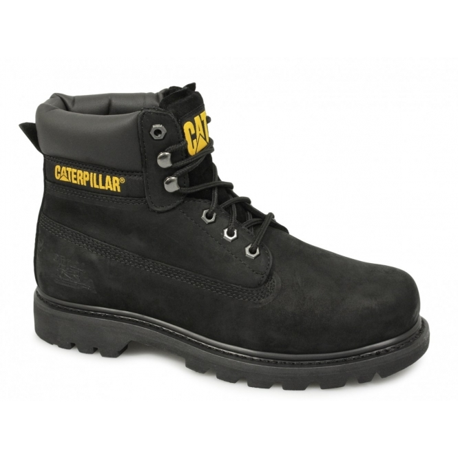 Cat ® COLORADO Mens Nubuck Leather Non-Safety Boots Black