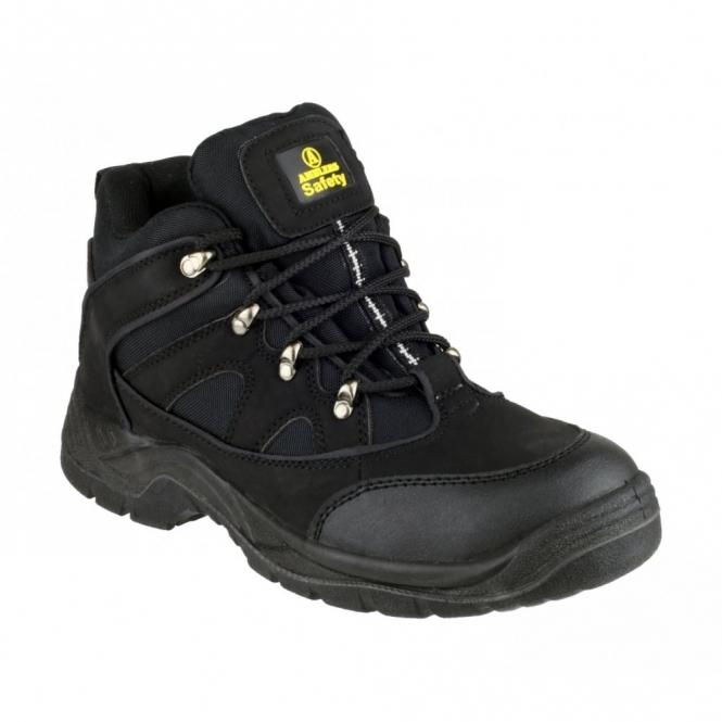 Amblers Safety FS151 Unisex SB P SRA Steel Mid Safety Boots Black