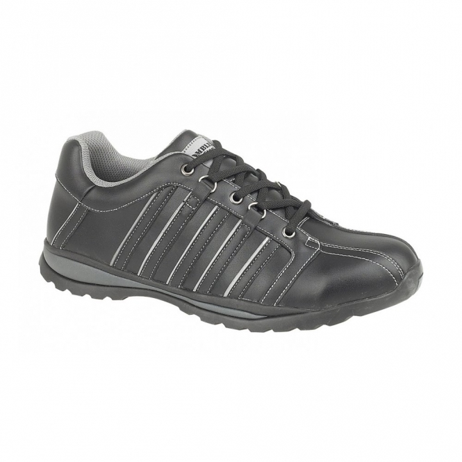 Amblers Safety FS50 Unisex S1 HRO Steel Safety Trainers Black