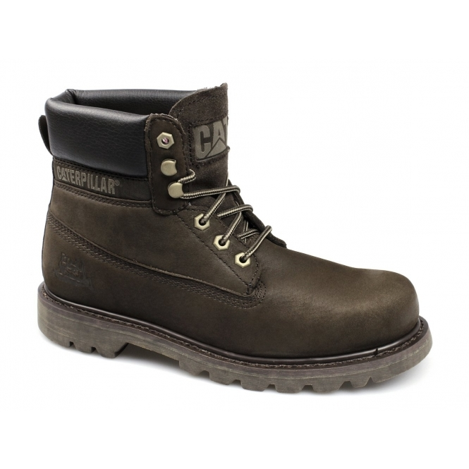 Cat ® COLORADO Mens Nubuck Leather Lace-Up Boots Tmoro